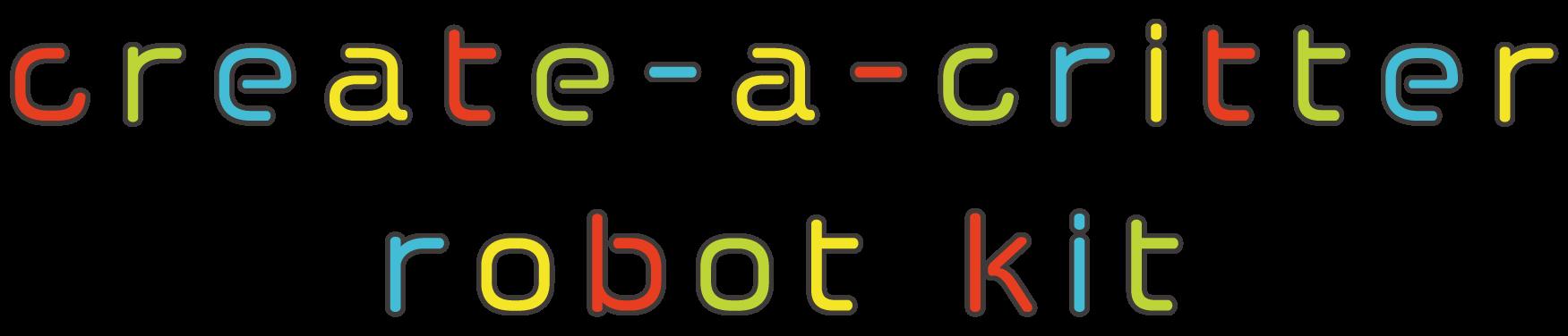 create-a-critter robot kit